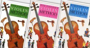 کتب ویولن آموزشگاه موسیقی