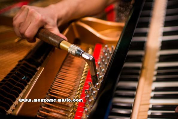 نحوه کوک پیانو