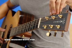 نحوه کوک گیتار