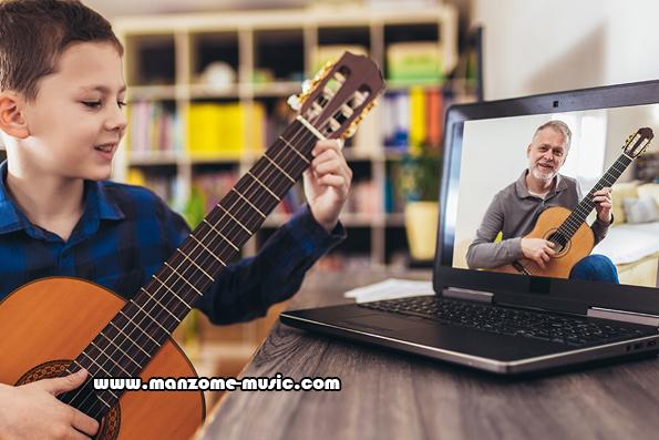 آموزش گیتار آنلاین