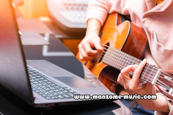 کلاس آنلاین گیتار