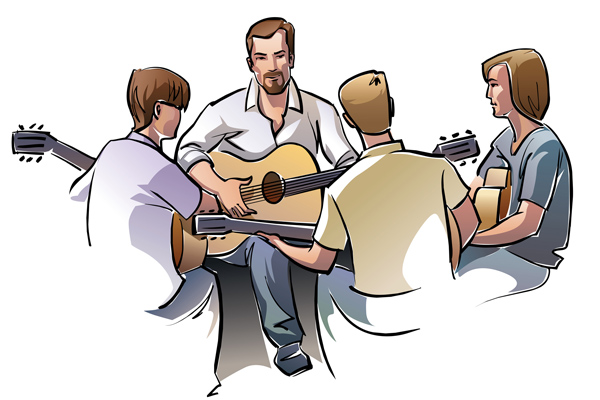 یادگیری گیتار چه مدت
