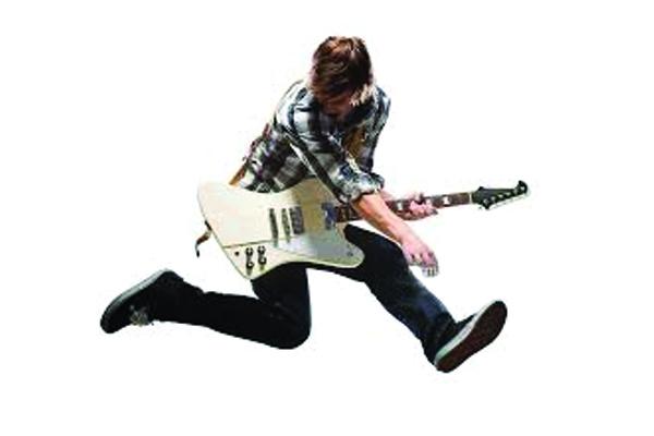 گیتار الکتریک در آموزشگاه موسیقی