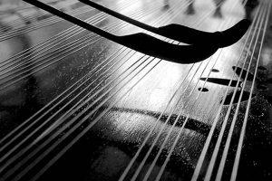 سنتور در آموزشگاه موسیقی