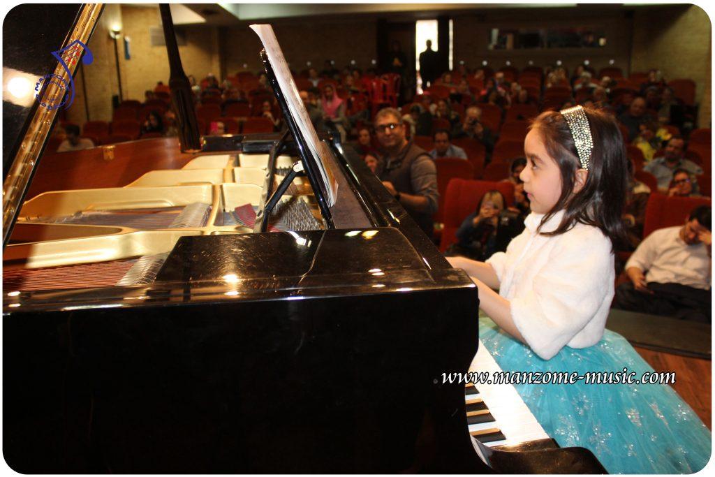 کلاس پیانو برای کودکان