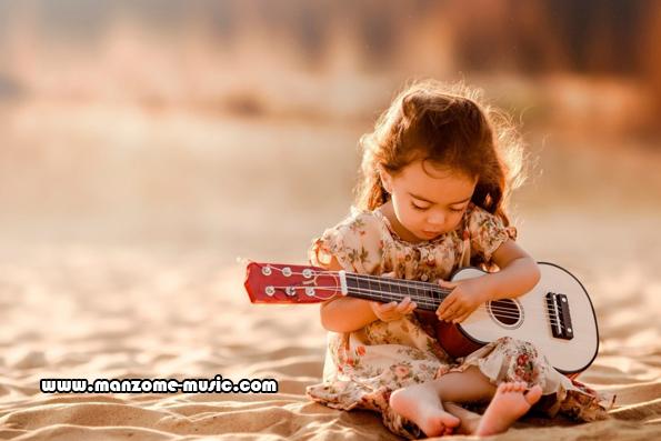 آموزش گیتار اسباب بازی